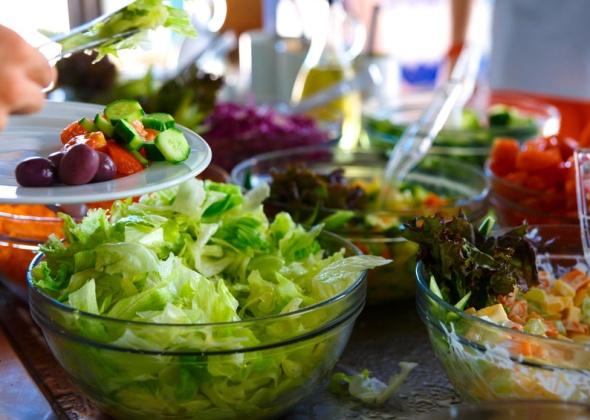 Салат по-уйгурски