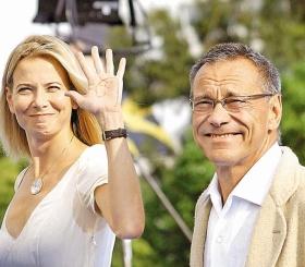 Высоцкая поделилась романтичным фото с супругом