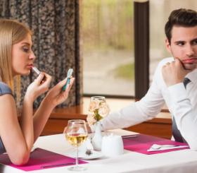 Как не отпугнуть мужчину на первом свидании