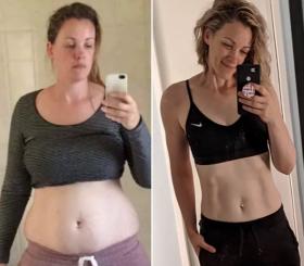 Как мать 5 детей похудела на 30 кг, не отказываясь от мучного