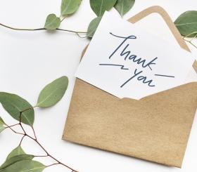 Нужно ли говорить за верность спасибо?