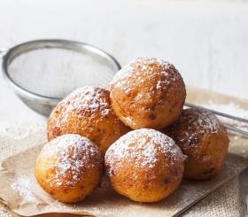 Рецепт дня: творожные пончики