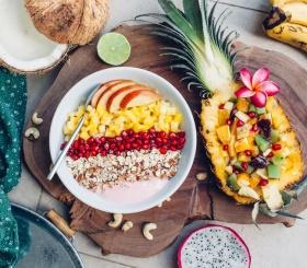 Как приготовить смузи-боул с фруктами дома