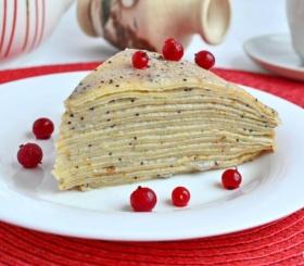 Учимся готовить блинный торт «Маковка»