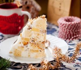 Десерт к новогоднему столу: панчо с ананасом